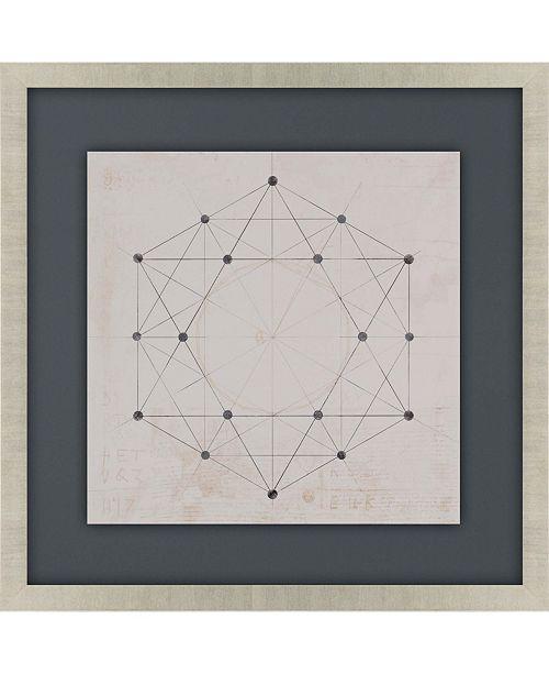 "Paragon Codex II Framed Wall Art, 35"" x 35"""