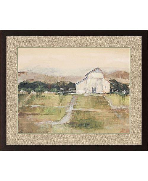 "Paragon Rural Sunset I Framed Wall Art, 32"" x 39"""