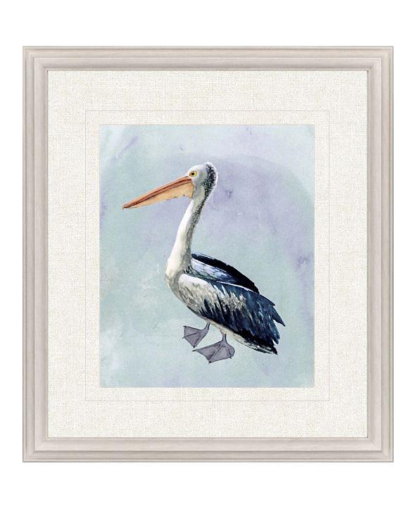 """Paragon Watercolor Beach Bird IV Framed Wall Art, 31"""" x 27"""""""