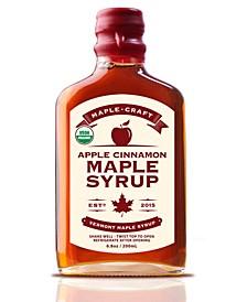 Apple Cinnamon Vermont Maple Syrup Organic