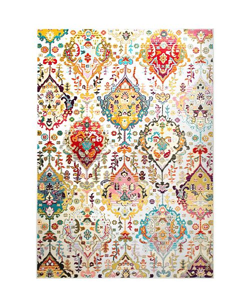Trina Turk  Melody Rosita Ivory Area Rug Collection
