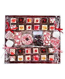 Deluxe Assortment of Romantic Valentines-Themed Rice Krispie Treats