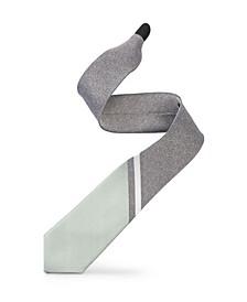 Men's 3-Tone Striped Tipping Athletica Slim Single Tie