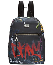 Gigi Nylon Graffiti Logo Backpack, Created for Macy's