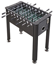 son 56'' Regulation Size Foosball Table with Cup Holders, Wood Finish