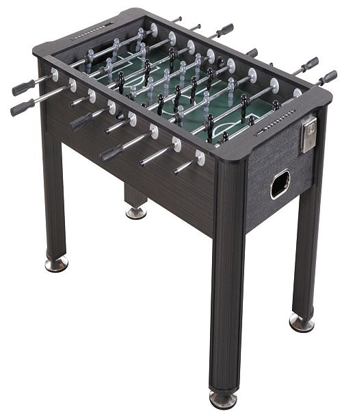 Sport Squad Greyson 56'' Regulation Size Foosball Table with Cup Holders, Wood Finish