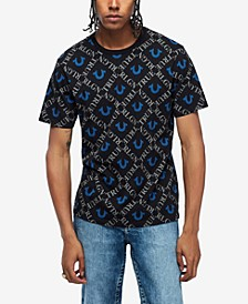 Men's Monogram All Over Print T-Shirt