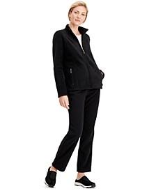 Zeroproof Fleece Jacket & Microfleece Pants, Created for Macy's