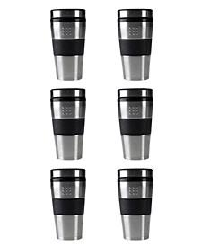 Orion Stainless Steel 16-Oz. Travel Mug, Set of 6