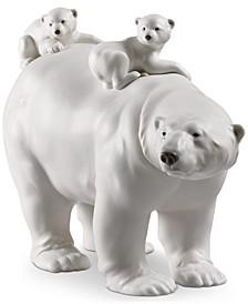Mummy Bear and Babies Figurine