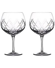 Gin Journeys Olann Balloon Glass Pair
