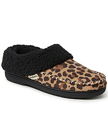 Women's Microsuede Whipstich Clog Slipper, Online Only