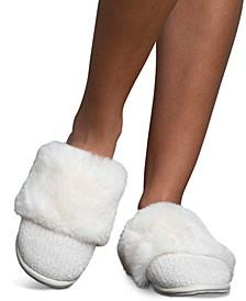 Women's Chenille Slide Slippers