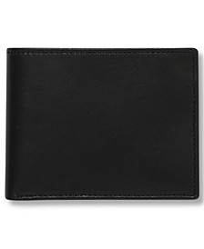 Portfolio Men's Leather Super Slimfold Wallet