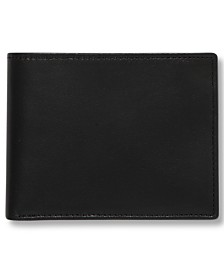 Perry Ellis Portfolio Men's Leather Super Slimfold Wallet