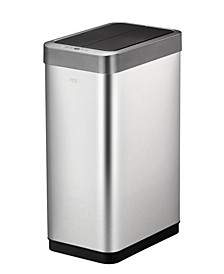 Phantom X Brushed Stainless Steel 45L Motion Sensor Trash Can
