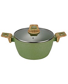 Round Casserole Pan with Glass Lid 11""