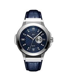 JBW Men's Saxon Diamond (1/6 ct. t.w.) Watch in Stainless-steel Watch 48mm