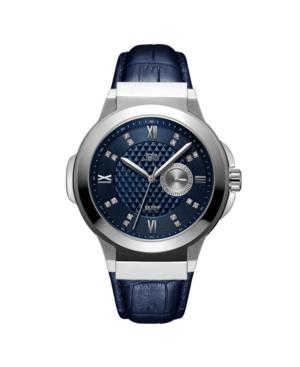 Men's Saxon Diamond (1/6 ct. t.w.) Watch in Stainless-steel Watch 48mm
