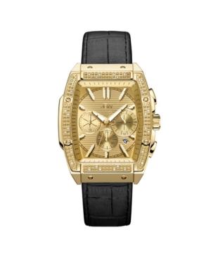 Men's Echelon Diamond (1/4 ct. t.w.) Watch in 18k Gold-plated Stainless Steel 41mm