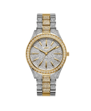 Women's Cristal Diamond (1/8 ct. t.w.) Watch in 18k Gold-plated Two Tone Stainless-steel Watch 38mm