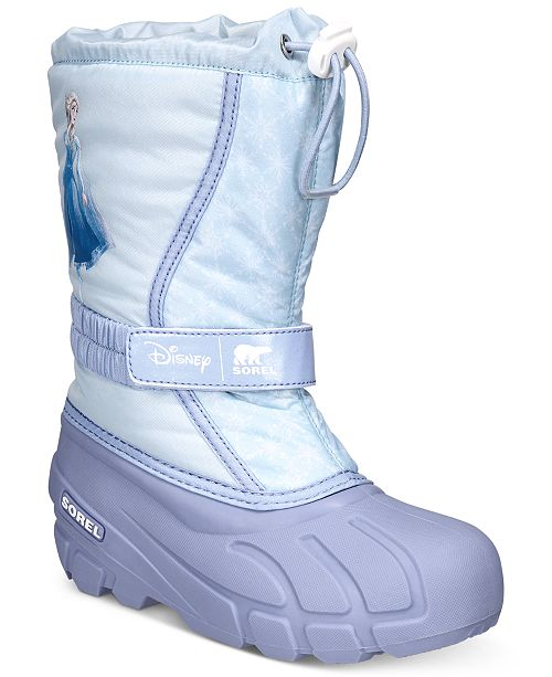 Sorel Disney x Sorel Little Girls Flurry Frozen 2 Boots