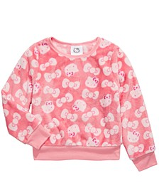 Little Girls Printed Sweatshirt