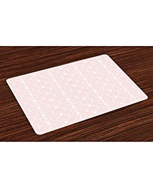 Place Mats, Set of 4