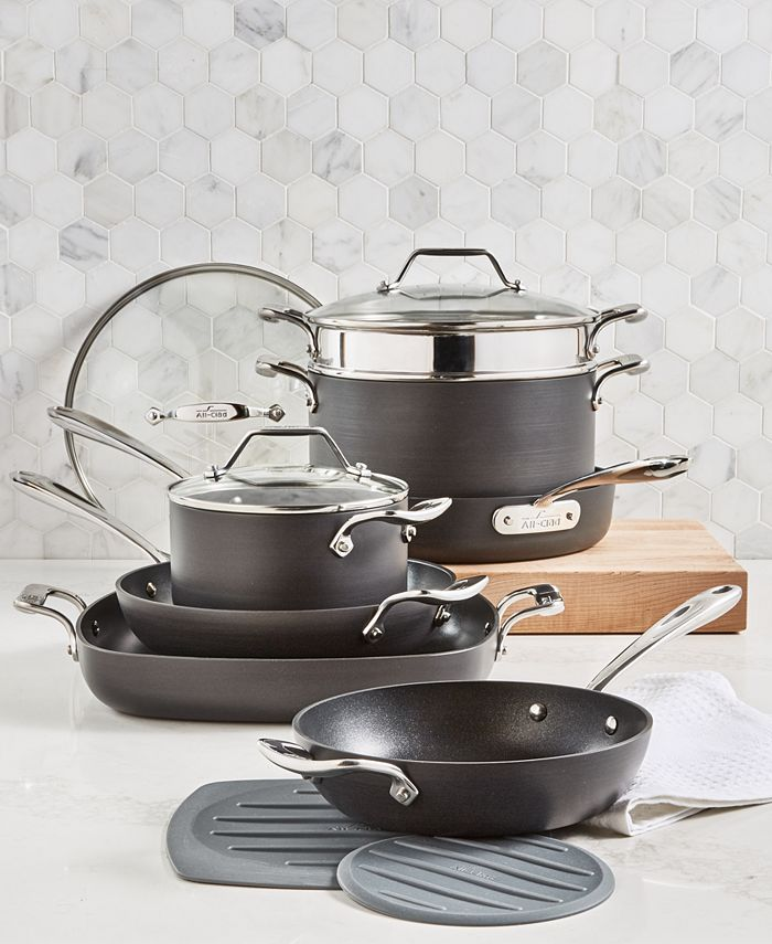 All-Clad - Nonstick 10-Pc. Cookware Set