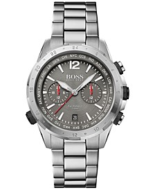 Men's Chronograph Nomad Stainless Steel Bracelet Watch 44mm