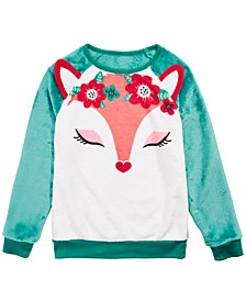 Big Girls Fox Sweatshirt
