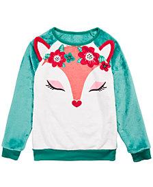 Evy of California Big Girls Fox Sweatshirt