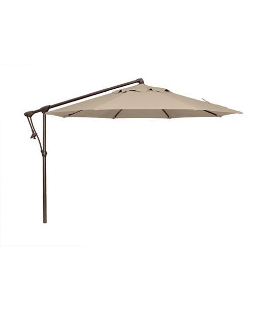 Treasure Garden 10' Cantilever Umbrella, Quick Ship