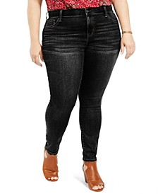 Plus Size Skinny Jeggings, Created For Macy's