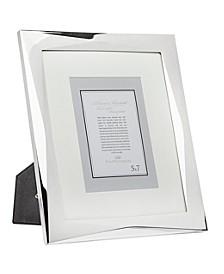 "Geometric Silver Frame - 8"" x 10"""