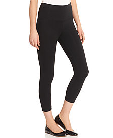 Lysse Women's  Wide Waistband Capri Leggings