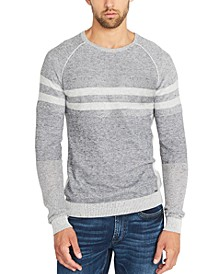 Men's Watake Striped Colorblocked Sweater