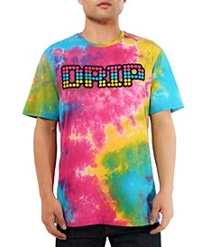 Men's Tie Dye Drip Graphic T-Shirt