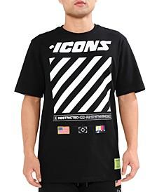 Men's Icons Hazard Graphic T-Shirt