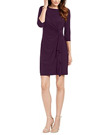 Petite Twist-Front Dress