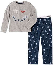 Toddler, Little & Big Girls 2-Pc. Star-Print Pajama Set