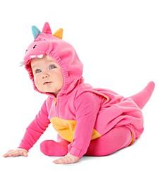 Baby Girls 3-Pc. Little Dragon Costume