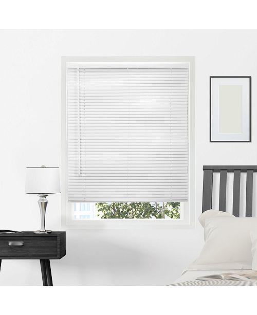 "Chicology Cordless 1"" Mini Blinds, Horizontal Venetian Slat Window Shade, 72"" W x 64"" H"
