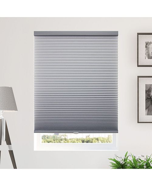 "Chicology Standard Cellular Shades, Privacy Single Cell Window Blind, 72"" W x 64"" H"