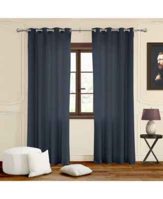 """Grommet Top Curtains, 52"""" W x 63"""" H"""