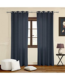 "Grommet Top Curtains, 52"" W x 63"" H"