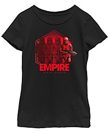 Big Girls Rise of Skywalker Empire First Order Troopers T-Shirt