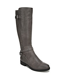 Vikki Wide Calf High Shaft Boots