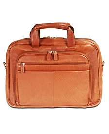 """Colombian Collection Zippered Double Compartment 15.6"""" Laptop / Tablet Briefcase"""