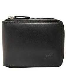 Boulder Collection RFID Secure Zippered Wallet with Removable Passcase
